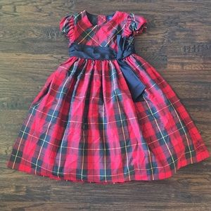 Ralph Lauren Red Plaid Dress